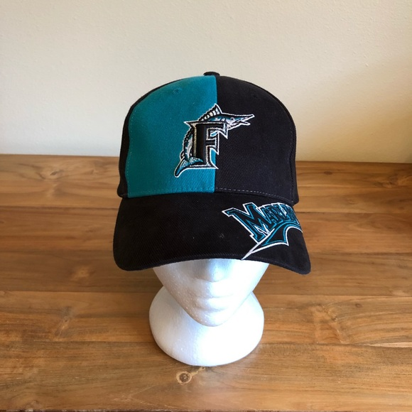 0db577848be27a MLB Accessories | Vintage Florida Marlins Dad Hat Velcro Strap Miami ...